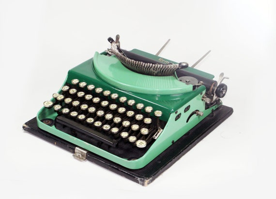 Vintage Two Tone Green Remington Model 2