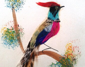 Mexican Feather Painting