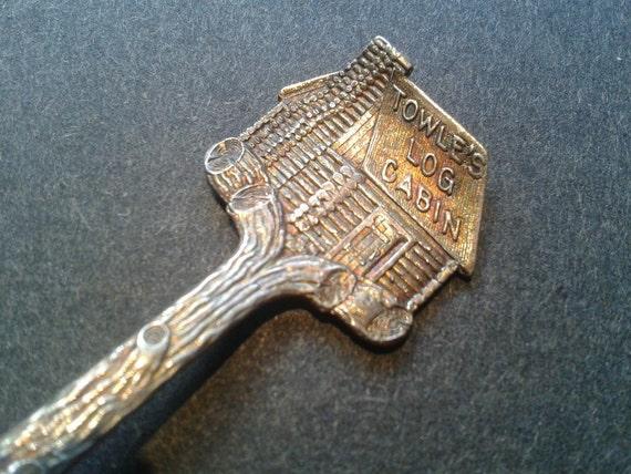 Towle's Log Cabin Premium Spoon Silver Plate Circa 1900