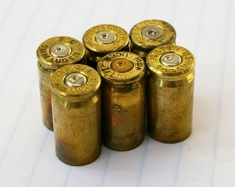 Six 9mm Mixed Make Bullet Casings