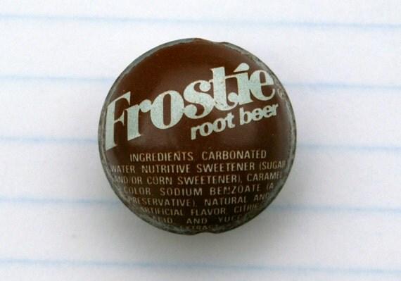 Vintage root beer bottle caps