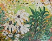Wildflower Meadow 4 - 8x10 original acrylic painting