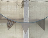 Cottage style bunting, banner, wedding pennant