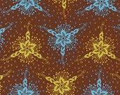SHOP CLOSING SALE - last one - Anna Maria Horner, Loulouthi, Triflora in Brass - 1 Yard
