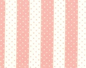Bonnie and Camille, Vintage Modern, Dot Stripe in Mellon - 1 Yard