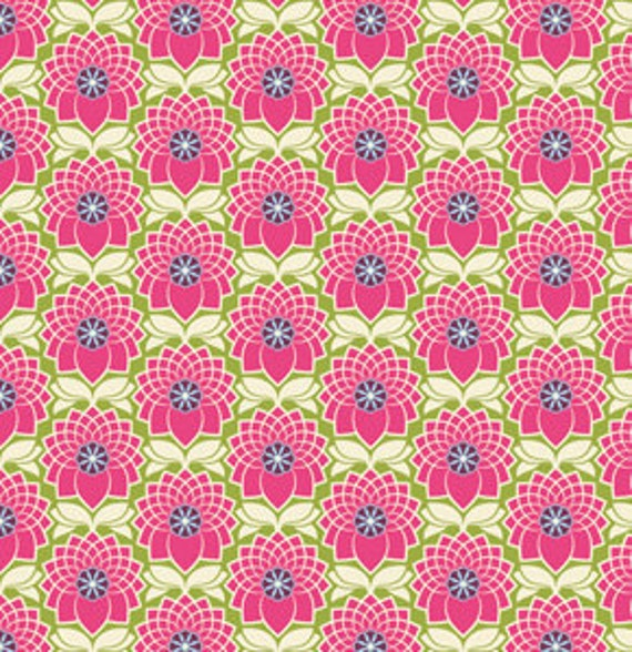 SHOP CLOSING SALE - Joel Dewberry, Heirloom, Chrysanthemum in Chrysanthemum - 1 Yard
