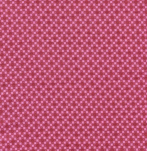 SALE FABRIC - Denyse Schmidt, Hope Valley, Four Square in Fiesta  - Half Yard