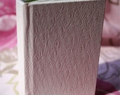 White Mini Book - Decorative Cover