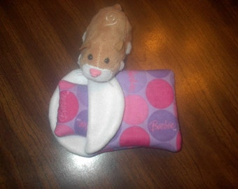 ZHU ZHU PETS HAMSTER SLEEPING BAG PILLOW BARBIE