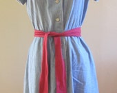 Vintage summer cotton dress