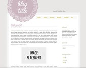 Sweet Doily - SELF Hosted Wordpress Theme