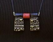 1st anniversary gift, Paper anniversary, Paper jewelry, Egyptian inspired paper jewelry
