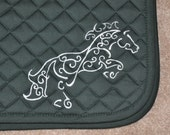 Hand Painted Saddle Pad
