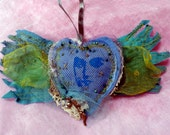 Angel Heart soft sculpture/ wall- hanging