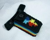 Autism Awareness Button-on Hip Pouch in 4 colors