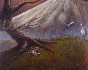 Cycles - Original Oil Painting