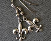 Fleur De Lis . Earrings . Fleur De Lis Collection
