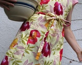 Adjustable Apron in Flowers under the Sun