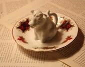 Teeny Tiny Ceramic Cow Creamer