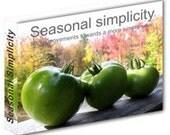 Seasonal Simplicity: Micro-Movements Towards a More Simple Year