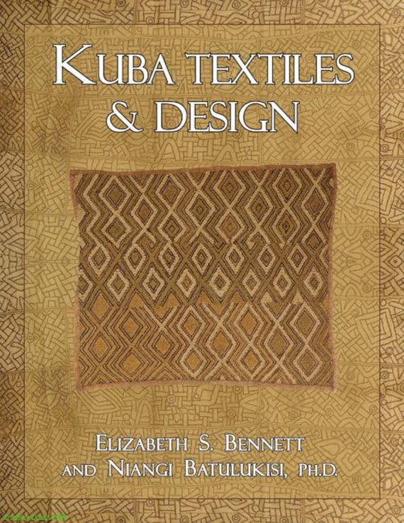 Kuba Textiles & Design--New African Art Book 50626