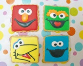 Sesame St. cookie favors