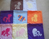 My Little Pony Silhouette Pillows