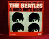 I LUV U Sale The Beatles - A Hard Days Night - Original Motion Picture Soundtrack - 1964 Vintage Vinyl Record Album