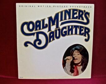 COALMINERS DAUGHTER - Soundtrack - 1980 Vintage Vinyl Record Album