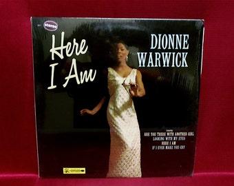 DIONNE WARWICK - Here I Am - 1966 Vintage Vinyl Record Album