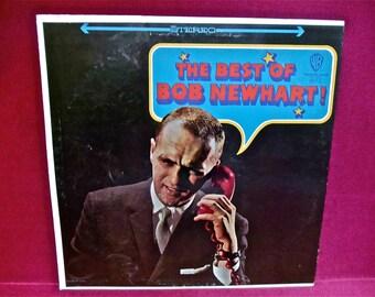 BOB NEWHART -The Best of Bob Newhart - 1973 Vintage Vinyl Record Album