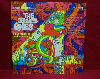 TED HEATH - The Big Ones - 1960s Vintage Vinyl GATEFOLD Record Album