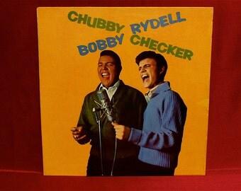 Chubby CHECKER...Bobby RYDELL - Chubby Checker/Bobby Rydell - 1961 Vintage Vinyl Record Album