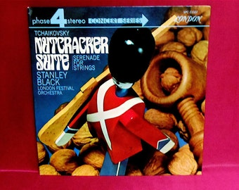 STANLEY BLACK - Tchaikovsky: Nutcracker Suite - 19-- Vintage GATEfold Vinyl Record Album