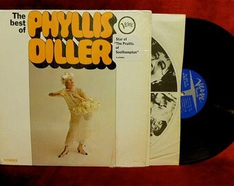PHYLLIS DILLER - The Best of Phyllis Diller - 1960s Vintage Vinyl LP Record Album