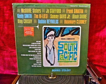SOUTH PACIFIC - Reprise Repertory Theatre - 1960s Vintage Vinyl Record Album