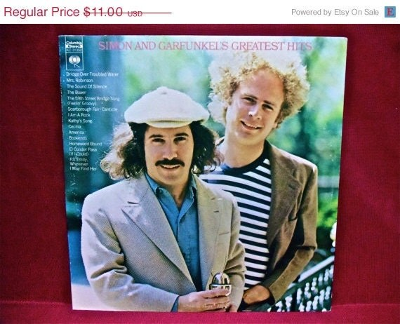 JANUARY CLEARANCE SIMON and Garfunkel - Simon and Garfunkel's Greatest Hits - 1972 Vintage Vinyl Record Album