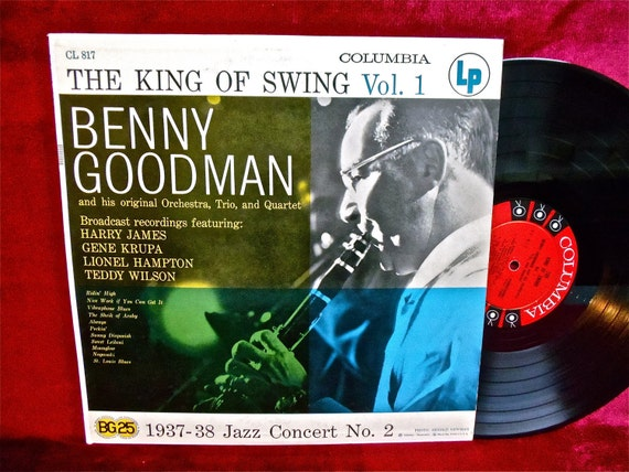 BENNY GOODMAN - The King of Swing Vol. 1 - 1956 Vintage Vinyl Record Album