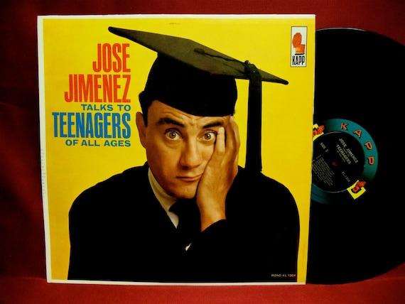 JOSE JIMENEZ - Talks To Teenagers of All Ages - 1962 Vintage Vinyl Record Album