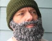 Beard PATTERN Beanie Santa Claus Hat - Photo Tutorial in PDF- p127
