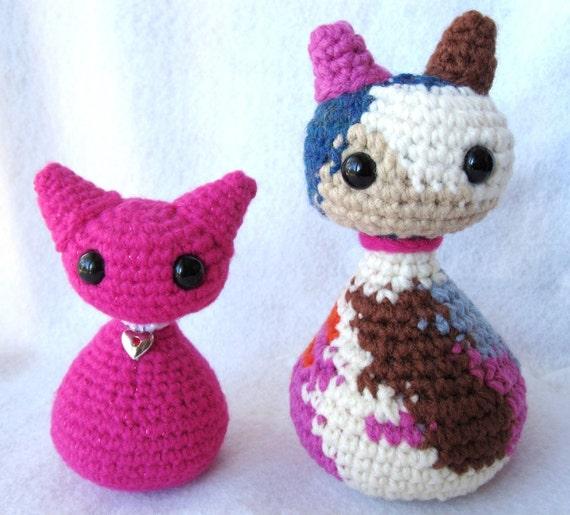 Amigurumi Wings : Cat Crochet Pattern Amigurumi w/ Angel Wings by ...