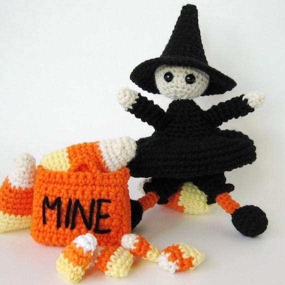 Crochet Patterns Free American Girl Dolls : Sweetest Lil Witch Amigurumi Crochet Pattern by ...