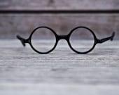 vintage eye glasses round frame france