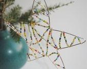 Twinkle, Twinkle Rainbow Star Ornament