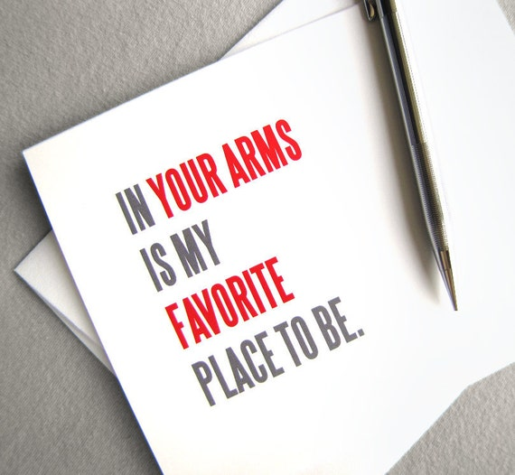 Valentine Card. Printable Valentines Day Card. Long Distance Valentine. I Love You Card. Miss You. Instant Digital Download. In Your Arms.