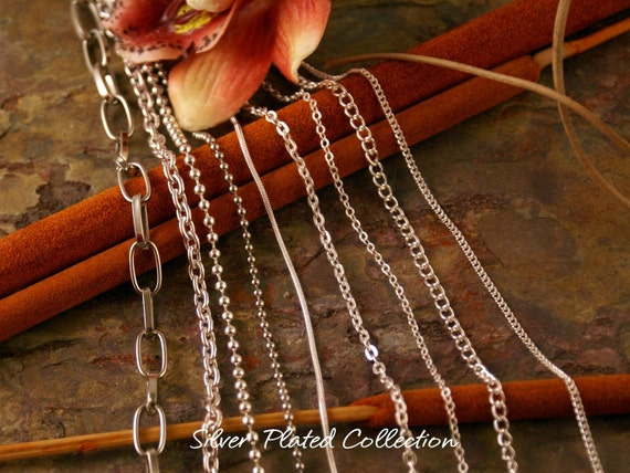 Plated chain collection