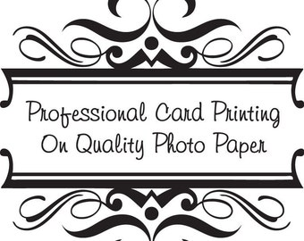 Professional 6x4 inch Card Printing