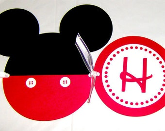 Mickey Mouse Die Cut Birthday Banner