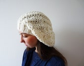 Tianjin Merinos Blend Hat in Cream