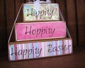 Hippity Hoppity Happity Easter Stacker